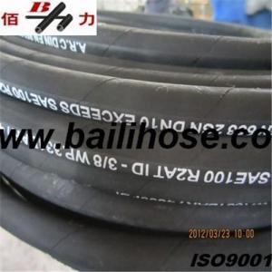 Steel wire braid hydraulic hose Manufactures
