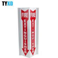 China 3 Way Fire Extinguisher Sign Steel / Aluminium/ Plastic / Paper Type Available on sale