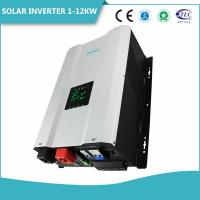 1 - 8KW Low Self - Consumption Solar Power Inverter With RS232 Communication Manufactures
