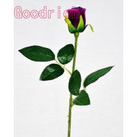 discount artificial purple rose bud Manufactures