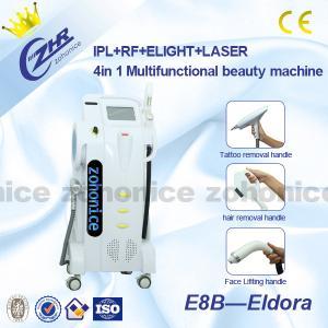 China 4in1 Multifunction E-light IPL RF Laser System For Hair Removal / Skin Rejuvenation on sale