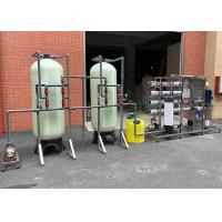 Quality 10KW Brackish Water System Desalination RO Plant 2000L/H For Irrigation / Drinking / Boiler for sale