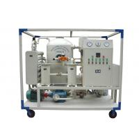 Transformer Insulation Oil Purifying Machine With Dehydration ISO / CE Certification Manufactures