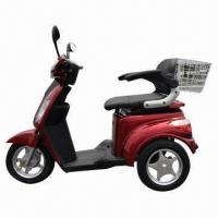 3-wheel Electric Mobility Scooter with 500W Trans-axle Differential Motor and 25km/h Maximum Speed Manufactures