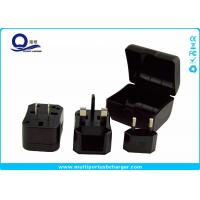 Multi Color All In One USB Travel Adapter Converter Kit With Suit Storage Box Manufactures