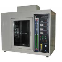 China Vertical Material Plastic Testing Equipment , Combustion Flammability Test Equipment on sale