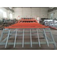 Width 3000mm Automatic Reinforced Wire Mesh Welding Machine For 5--12mm Rebar Manufactures