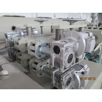 China PVC Conduit Pipe Production Line , Single Corrugated sheet extrusion line on sale