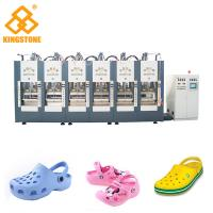 China EVA Vacuum Hot Press Foam Molding Machine , Vertical Injection Machine on sale