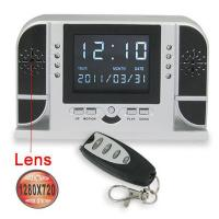 HD 720P  Alarm Clock Camera with Motion Detection, Nightvision and Remote Control Function Manufactures