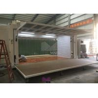 Expandable Shipping Container Retail Store , Portable Prefab Retail Stores Manufactures