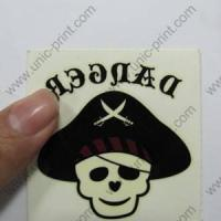 Assorted Tribal Skull Temporary Tattoo Sticker/Decal for Body Decoration (TTS-025) Manufactures