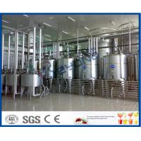 Full Automatic Industrial Yogurt Making Machine For Dairy Plant Project 2000L - 20000LPH Manufactures