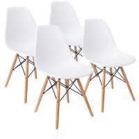 China Modern Style Nordic Dining Chairs Shell Lounge Plastic Chair For Kitchen Bedroom Living Room on sale