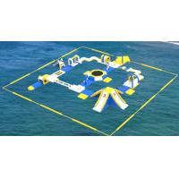 Adult Inflatable Water Play Equipment For Sea / Inflatable Water Park Design Build Manufactures