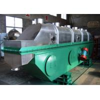 China ZLG Series Vibrating Fluid Bed Dryer FBD Continuous Type For Granules Drying on sale