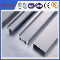 aluminum profile for channel letter extrusion,customized shaped/ u aluminum channel,OEM Manufactures