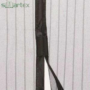 China Lightweight Door Mesh Curtain , Magnetic Screen Garage Door Curtain on sale