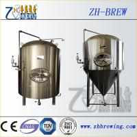 Stainless steel beer conical fermente, fermentation tank and jacket fermenter for beer plant and factory Manufactures