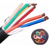 Black Full Range Copper Control Cable Polyvinyl Chloride Copper Flexible Wire Manufactures