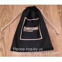 Assorted Colors Burlap Gift Bags with Double Jute Drawstrings Candy Sack Pouch