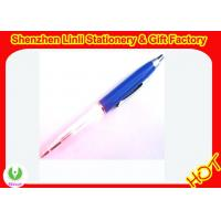 led pens with lights Stylish design logo nice promotion and gift Manufactures