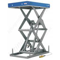 Quality Telescopic scissor lifting platform 1000kg 1m with high strength steel for construction for sale