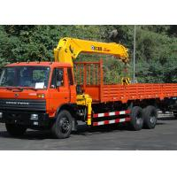 Durable 12 Ton Truck Loader Crane CE Certification For Transportion Manufactures