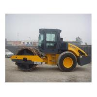 Mechanical Single Drum Vibratory Roller Compactor With PERMCO Hydraulic System Manufactures