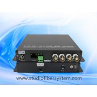 4 AHD video 1 RS485 1 ethernet to fiber converter for CCTV surveillance system Manufactures