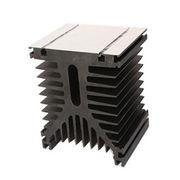 Heat Sinks For Electric Product / Extruded Aluminum Heatsink Powder Coating Manufactures