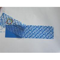 High - Residue Self Adhesive Security Labels Reveal Hidden Message Manufactures