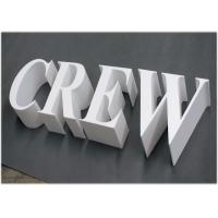 20mm Rigid PVC Sign Board UV Printing For Outdoor / Indoor 3d Sign Letter Manufactures