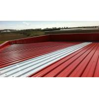 Trapezoidal Roof Wall Panel Cold Roll Former Galvanized Steel High Speed