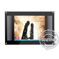 15 inch Wall Mount LCD Display metal with OSD German , Italian , Spanish Manufactures