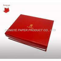 Red Folding Food Cardboard Boxes , Silk Screen Cookie Packaging Boxes Manufactures