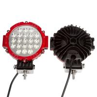 """63W 7"""" Spot LED Work Light 6000K Driving for ATV Jeep Wrangler Car SUV Offroad Pickup 4WD Boat ATV Manufactures"""
