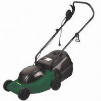 3000rpm Electric Lawn Mower with 1,300W Input Power and Working Width of 320mm