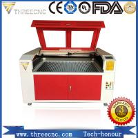 Most popular marble laser engraving for nonmetal material  TL6090-80W. THREECNC Manufactures
