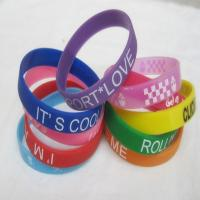 Promotional Silicon Wristband/Silicone Bracelet Manufactures