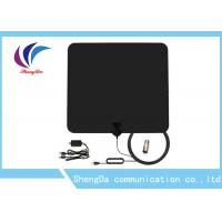 Detachable Amplifier UHF VHF TV Antenna 3m RG174 Coax Cable Vertical Polarization Manufactures