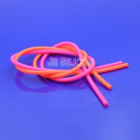 China Clear 4.0mm OD 2.0mm ID Medical Grade Silicone Tubing on sale