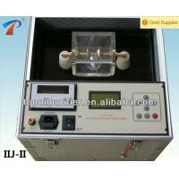 Fully Automatic Insulating oil Dielectric Strength tester Series IIJ-II-60 Manufactures