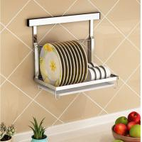 Metal Wire Kitchen Racks And Holders , Single Layer Kitchen Counter Rack Manufactures