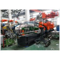 China Parallel twin screw extruder PP plastic masterbatch compounding machine on sale