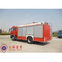 4x2 Drive CAFS Fire Truck TGSM Standard Cab With Compressed Air Foam System Manufactures
