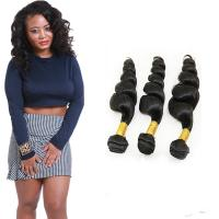 China 8a Natural Tight Loose Curly Hair Extensions / Remy Loose Deep Wave Hair on sale