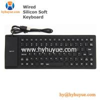 China Mini Wired Silicon Waterproof Keyboard for PC/Tablet/Laptop/Smartphone 83 Keys Flexible on sale