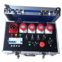 Noctilucence Rack Flight Case , Four Channel Motor Chain Hoist Power Case Manufactures
