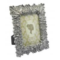 Gold Leaf Design Antique Style Photo Frames With Picture Ornate Velvet Easel 4x6 Manufactures